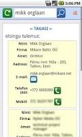 Screenshot of MIKARE CRM