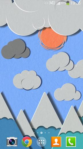 Paper Sky Live Wallpaper