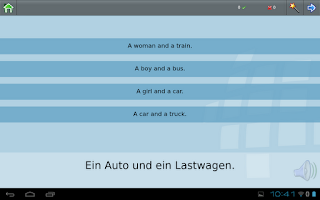 Screenshot of Z_L-Lingo Learn German HD