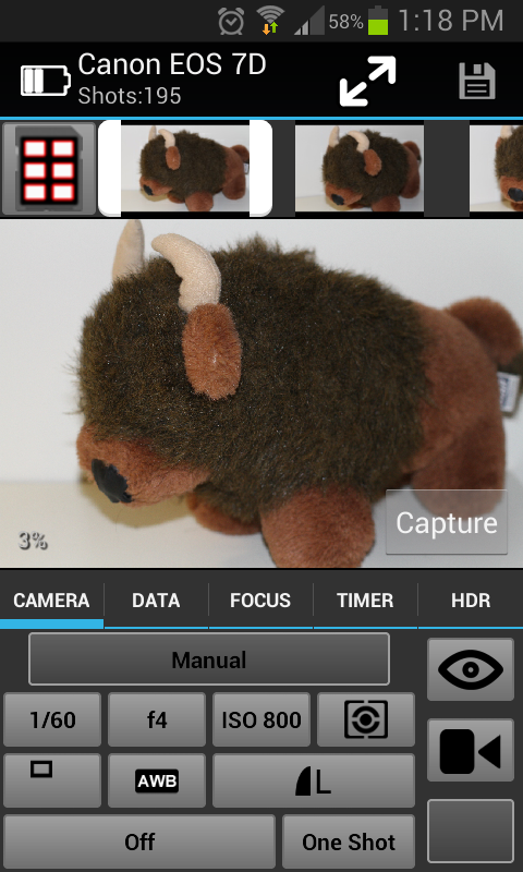 CamRanger Wireless DSLR Remote- screenshot