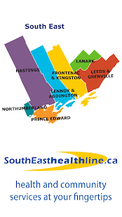 SouthEasthealthline.ca- screenshot thumbnail