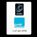TAWASOL-Zain Messenger logo