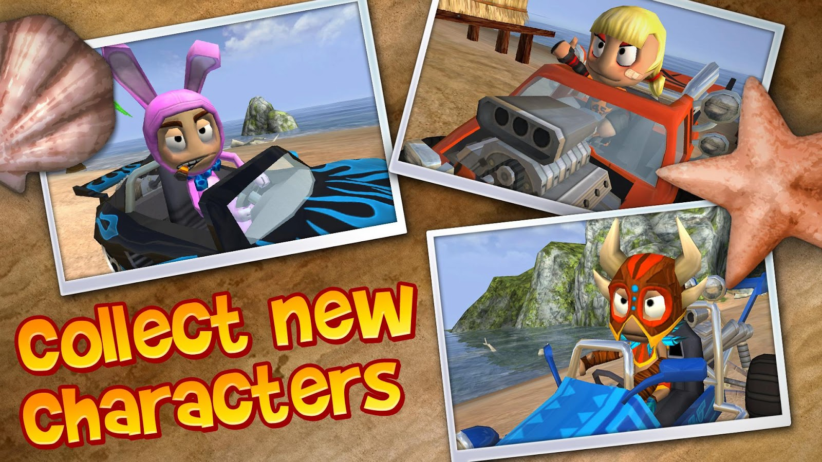 Beach Buggy Blitz- screenshot
