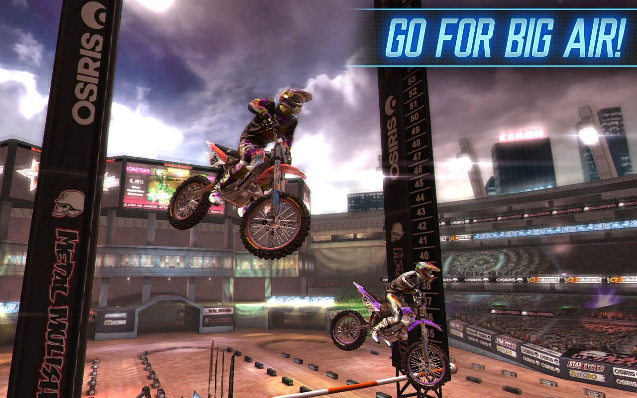 MOTOCROSS MELTDOWN- screenshot