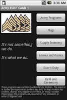 Screenshot of Army Flashcards 1