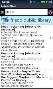 Frisco Public Library - screenshot thumbnail