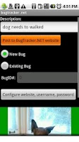Screenshot of BugTracker.NET for Android