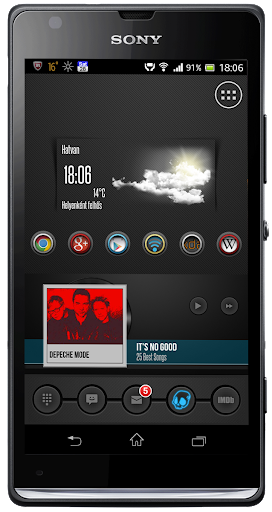 HLGPlayer Zooper skin