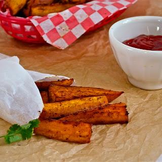 Spicy Orange Baked Sweet Potato Fries