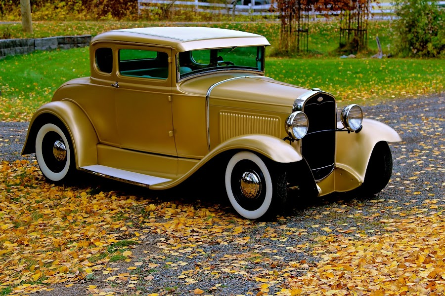 1930 ford by Judy Lachapelle - Transportation Automobiles (  )