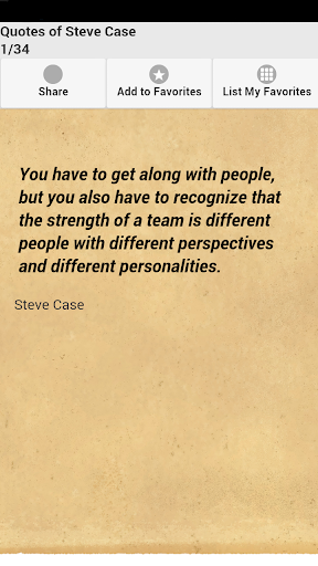 Quotes of Steve Case
