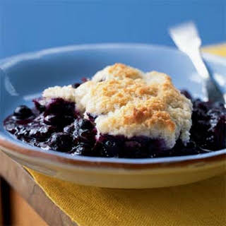 Blueberry Cobbler.