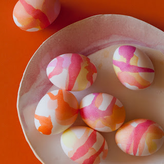 "Watercolor Easter Eggs + Egg ""Salad"" Sandwich"