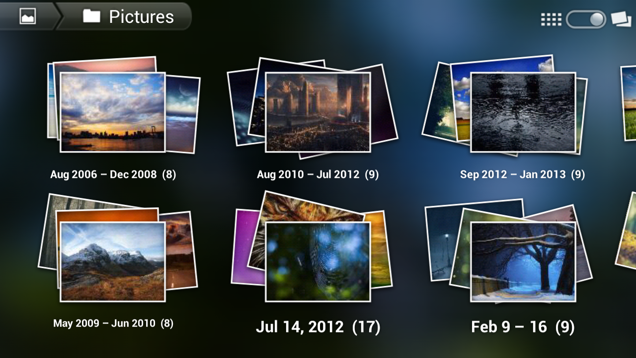 3d photo gallery android apps on google play 3d application