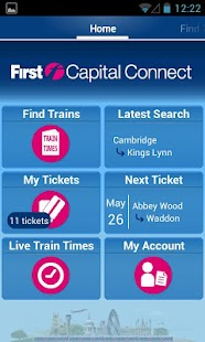 Rail Tickets - screenshot thumbnail