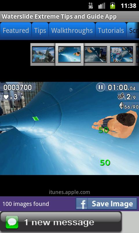 Waterslide Extreme Fan App - screenshot
