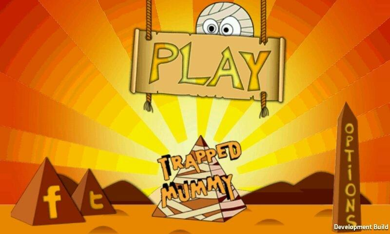 Trapped Mummy Free- screenshot