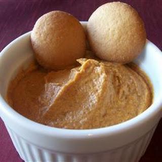 Spiced Cream Cheese And Pumpkin Dip.