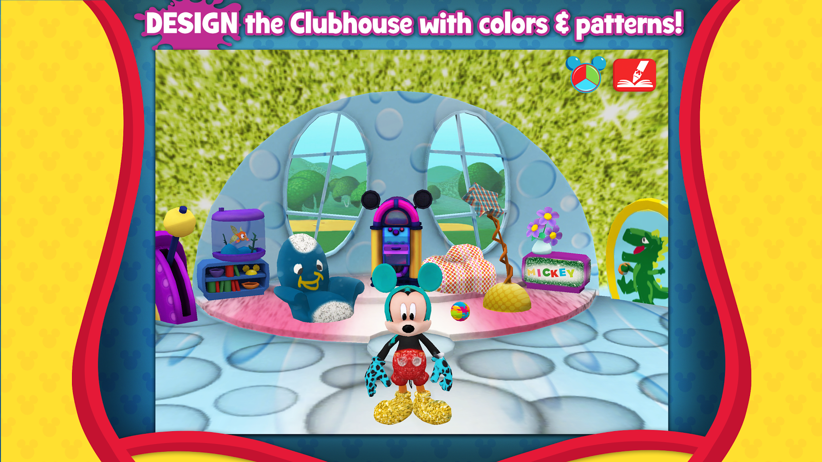 Mickey's Paint and Play! - screenshot