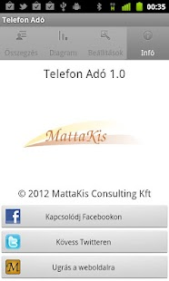 Telefon Adó- screenshot thumbnail