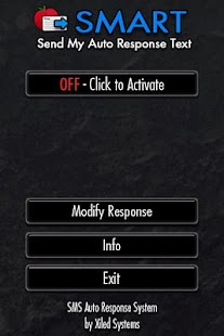 SMART -- SMS Responder- screenshot thumbnail