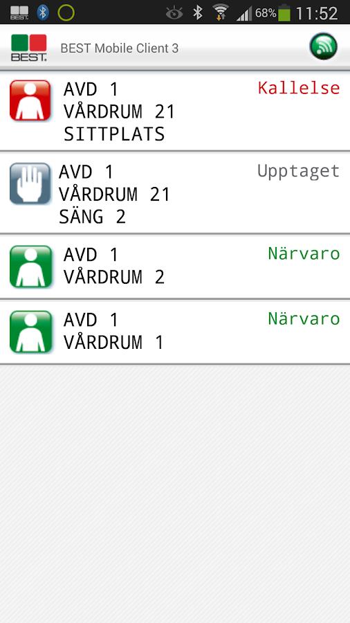 BEST Mobile Client 3 - screenshot