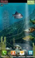Screenshot of Piranha Live Wallpaper HD
