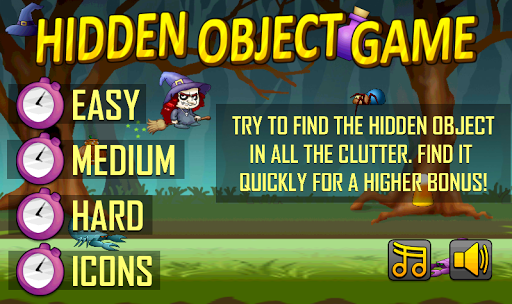 Witchy Treats Hidden Objects