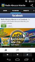 Screenshot of Radio Abruzzo Marche