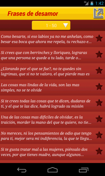 Frases de desamor- screenshot