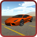 Extreme Super Car Driving 3D icon