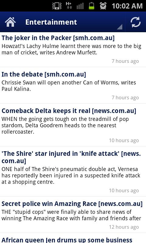 Australian News - screenshot