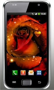 Gothic Rose Live Wallpaper- screenshot thumbnail