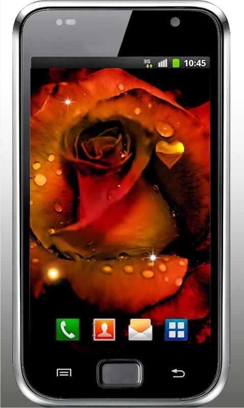 Gothic Rose Live Wallpaper - screenshot