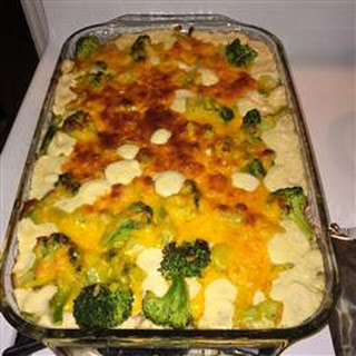 Broccoli Hamburger Casserole.