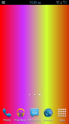 Animated Spectrum Wallpaper