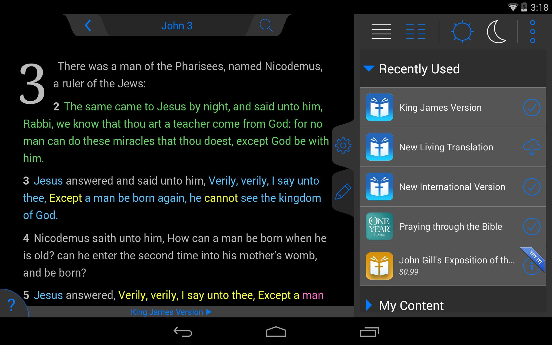 ESV Bible screenshot #21
