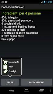 Ricettario Tascabile | Ricette- screenshot thumbnail