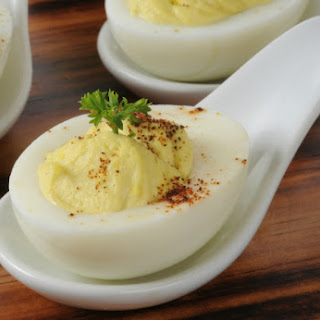 Spice Mexican Deviled Eggs