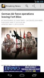 Las Cruces Sun News - screenshot thumbnail
