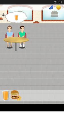 Burger Shop Game - screenshot