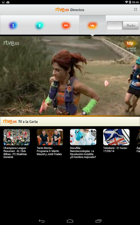 RTVE.es | Tableta- screenshot