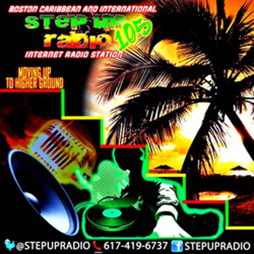 STEPUPRADIO105.COM LOGO-APP點子