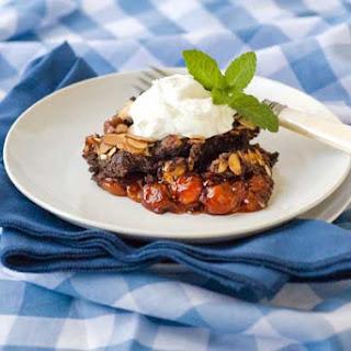 Gluten Free Chocolate Cherry Dump Cake.