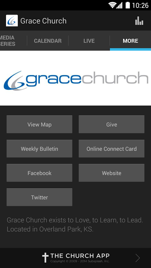 Grace Church Overland Park - screenshot