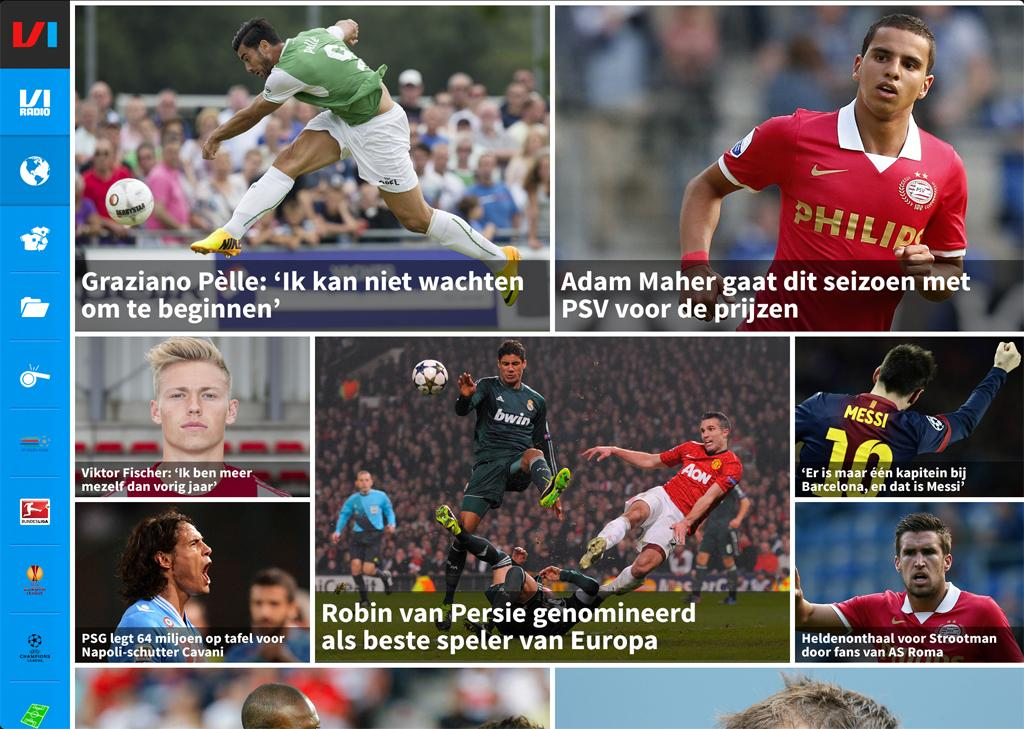 Voetbal International - screenshot