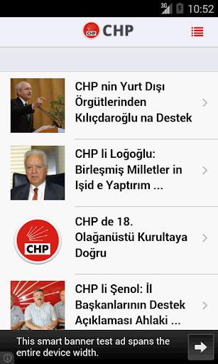 CHP Haberleri