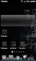 Screenshot of Simple Black White HD Theme