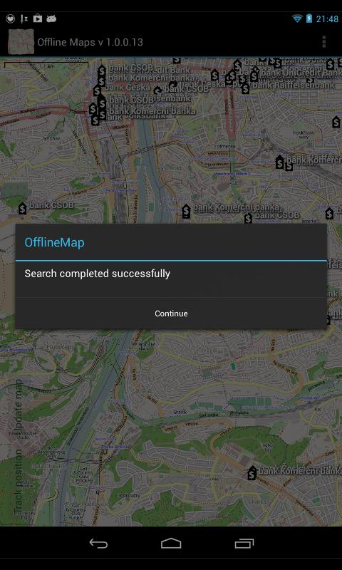 Offline Maps- screenshot