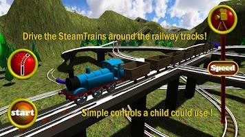 Screenshot of SteamTrains free